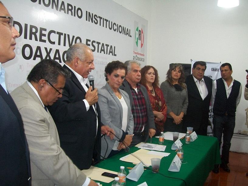 Diez distritos electorales difíciles para el PRI en Oaxaca: Castro Justo.