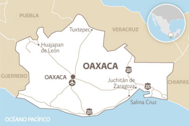 INE inicia trabajos para distritación en 15 estados con elección en 2016, como Oaxaca