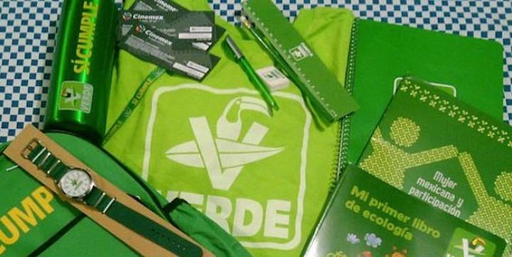 Ordena al PVEM suspender entrega de artículos escolares que no sean de material textil