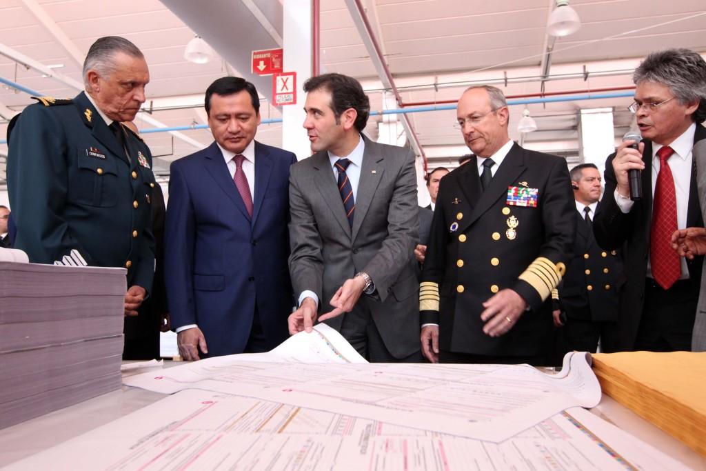 Arranca impresión de 87 millones de boletas para la jornada electoral del 7 de junio