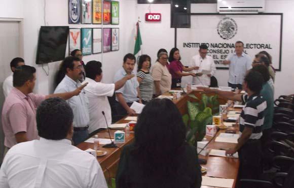 Hoy Consejos de INE aprobarán las candidaturas a diputados federales