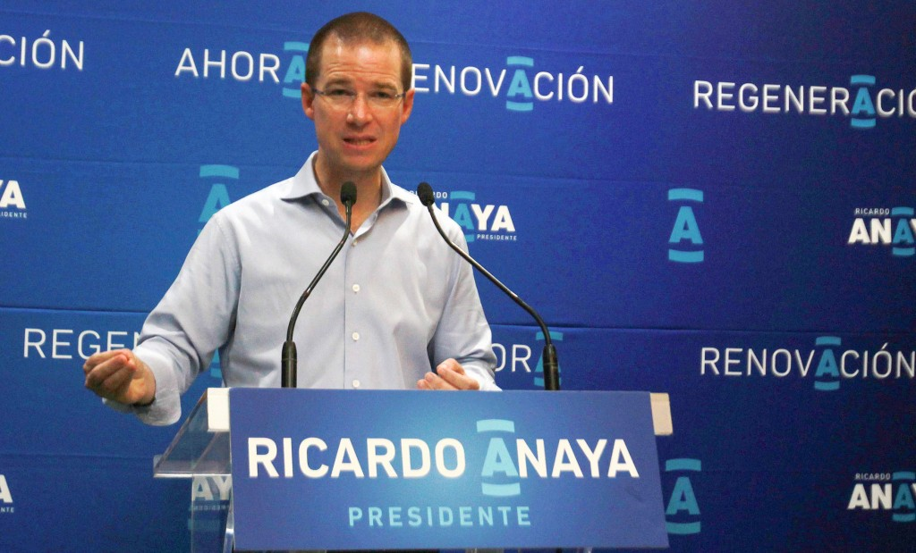No habrá alianzas con el PRI; sí con las izquierdas: Ricardo Anaya