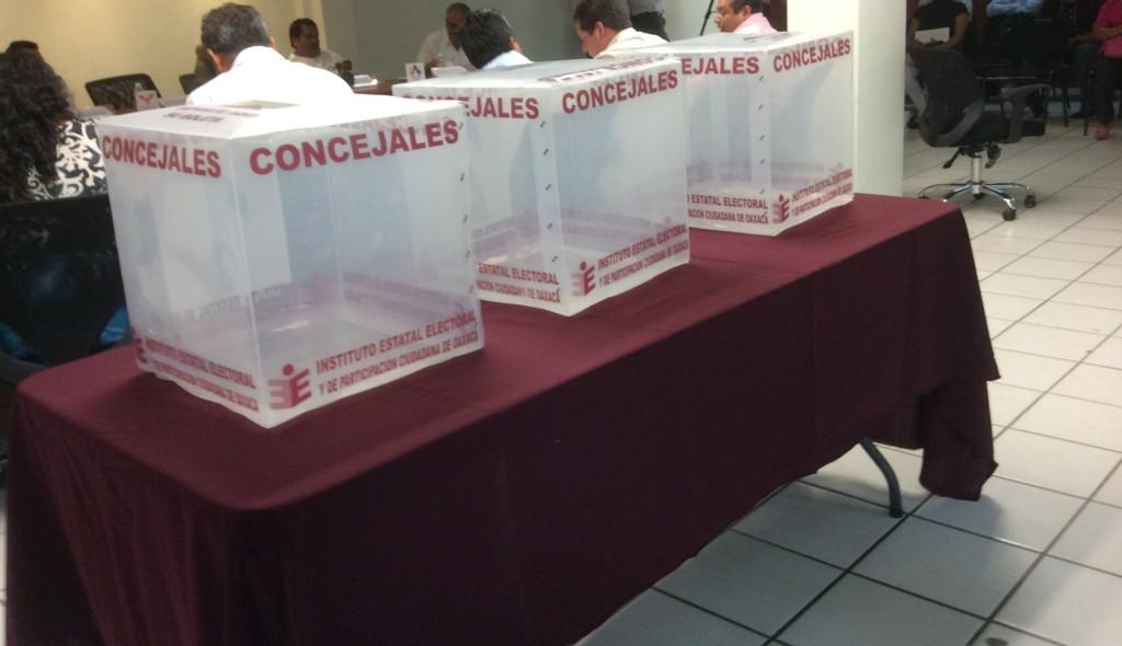 Confirma IEEPCO que en dos municipios podría haber elecciones extraordinarias