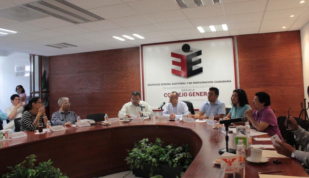 IEEPCO integra Comisiones Permanentes para el Proceso Electoral Ordinario 2015-2016