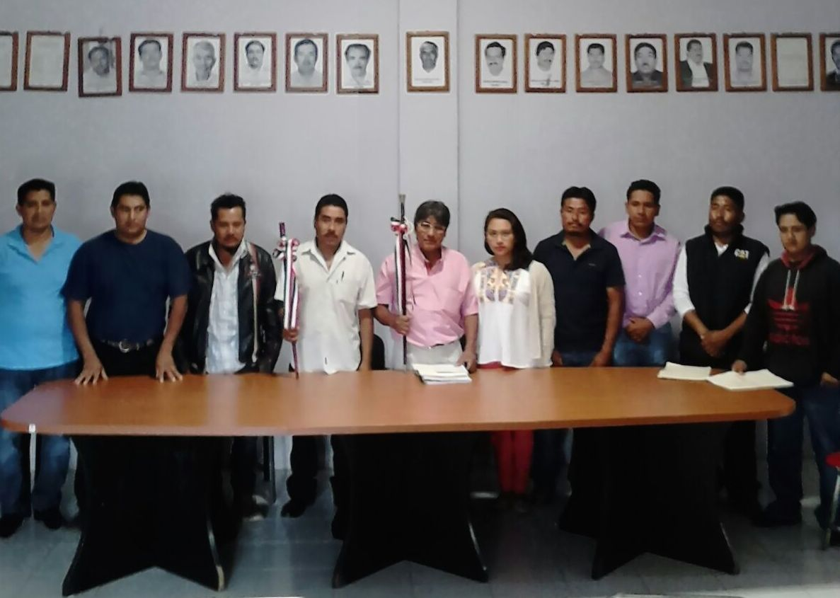 Saldo blanco en relevo de autoridades municipales: SEGEGO