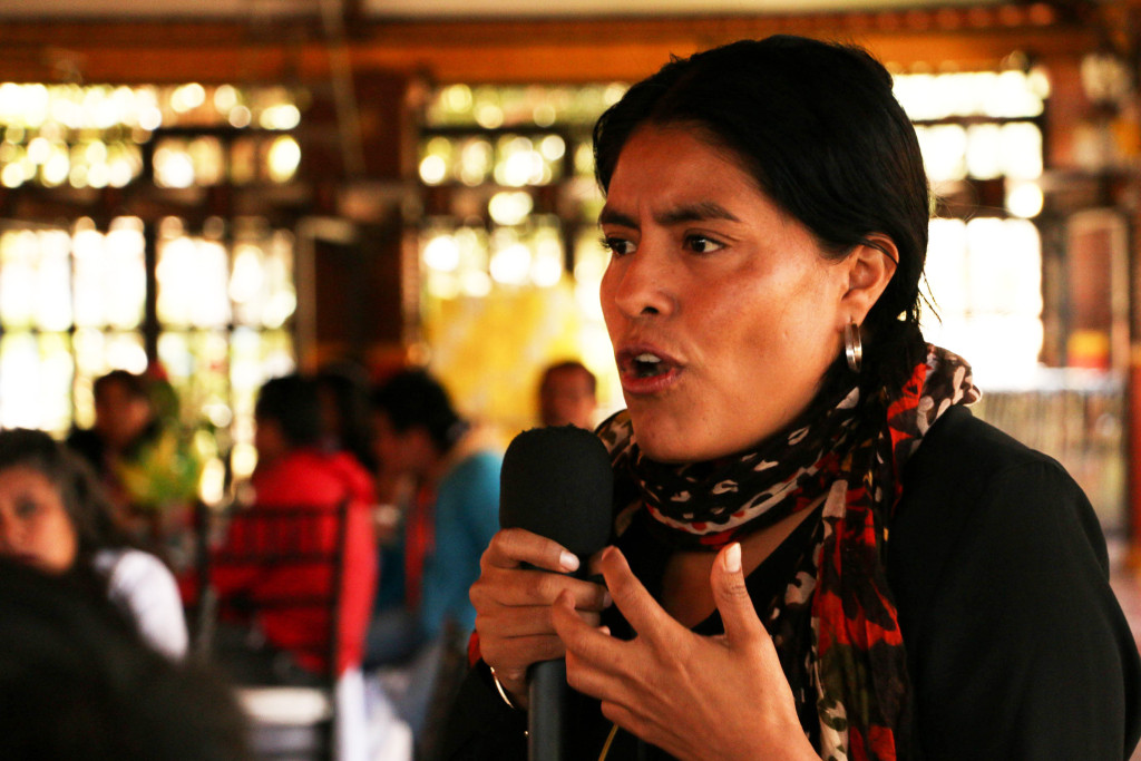 """""""Con credenciales o sin credenciales, seguiré siendo panista"""": Eufrosina Cruz Mendoza"""