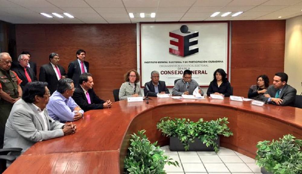 IEEPCO da seguimiento a proceso de  insaculación para elecciones 2016