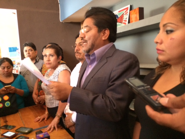 Diputados del PRD impugnarán la Ley Educativa de Oaxaca