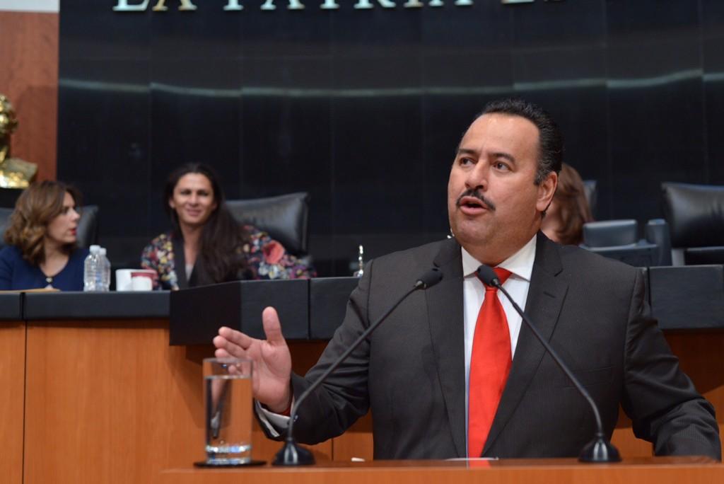 Asume Jorge Toledo Presidencia de la Comisión de Asuntos Indígenas del Senado