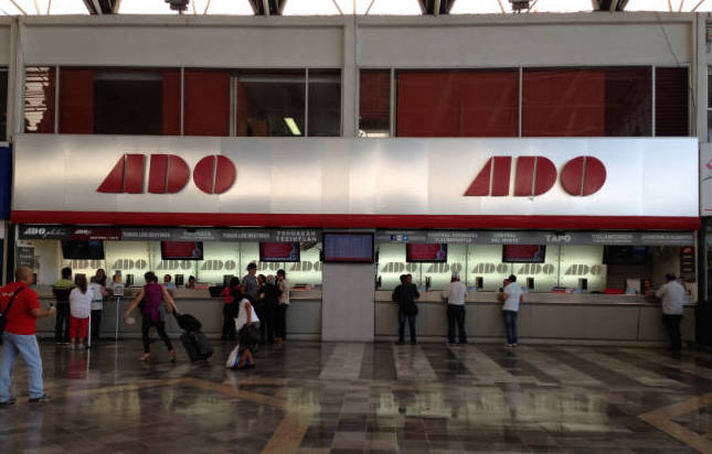 ADO suspende corridas Puebla-Oaxaca, por cierre carreteros y violencia