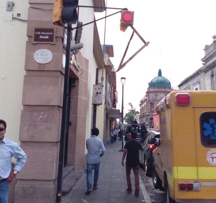 Por daños a la red eléctrica no hay alumbrado en el zócaloy Alameda de León; sí hay energía: Ignacio Santillana