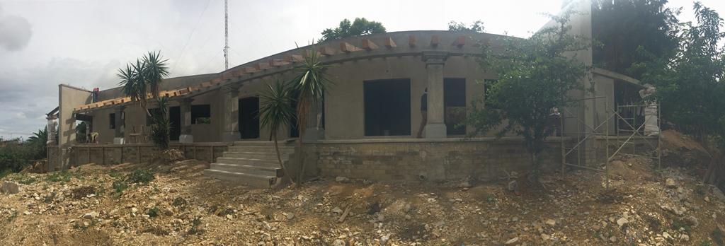 Gobierno del Estado construye casa comunal en San Agustín Etla