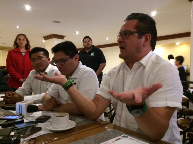Ernesto Ruiz se deslinda de la deuda del PVEM con trabajadores