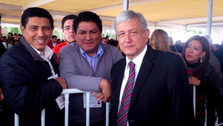 550 Delegados de Morena-Oaxaca se concentran en CDMX, suman 5000 de todo el país.