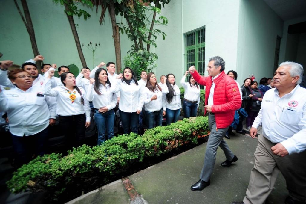 Convoca líder del PRI a Unidad Nacional para respaldar a EPN