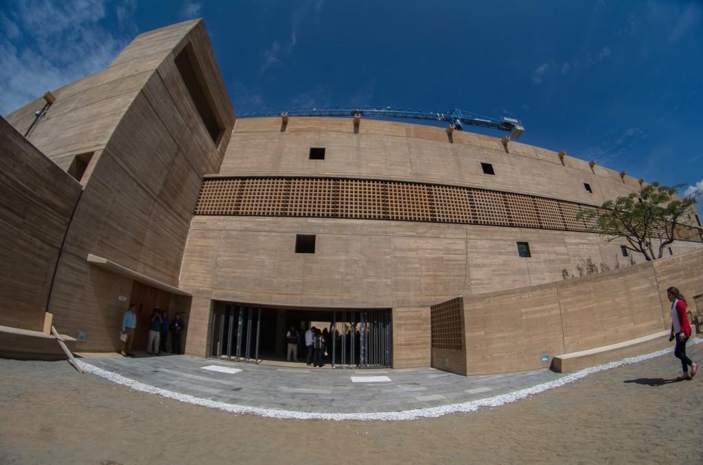 Entregan Gobierno de Oaxaca y Fundación Alfredo Harp, la Ciudad de los Archivos