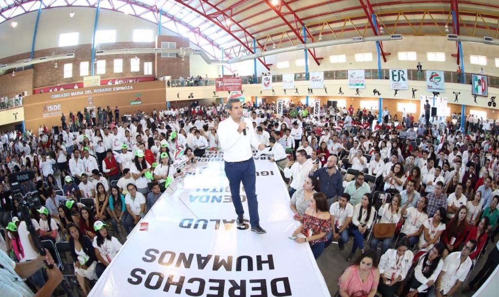 Convoca Ochoa a jóvenes priistas a contribuir a la transformación que encabeza Peña Nieto