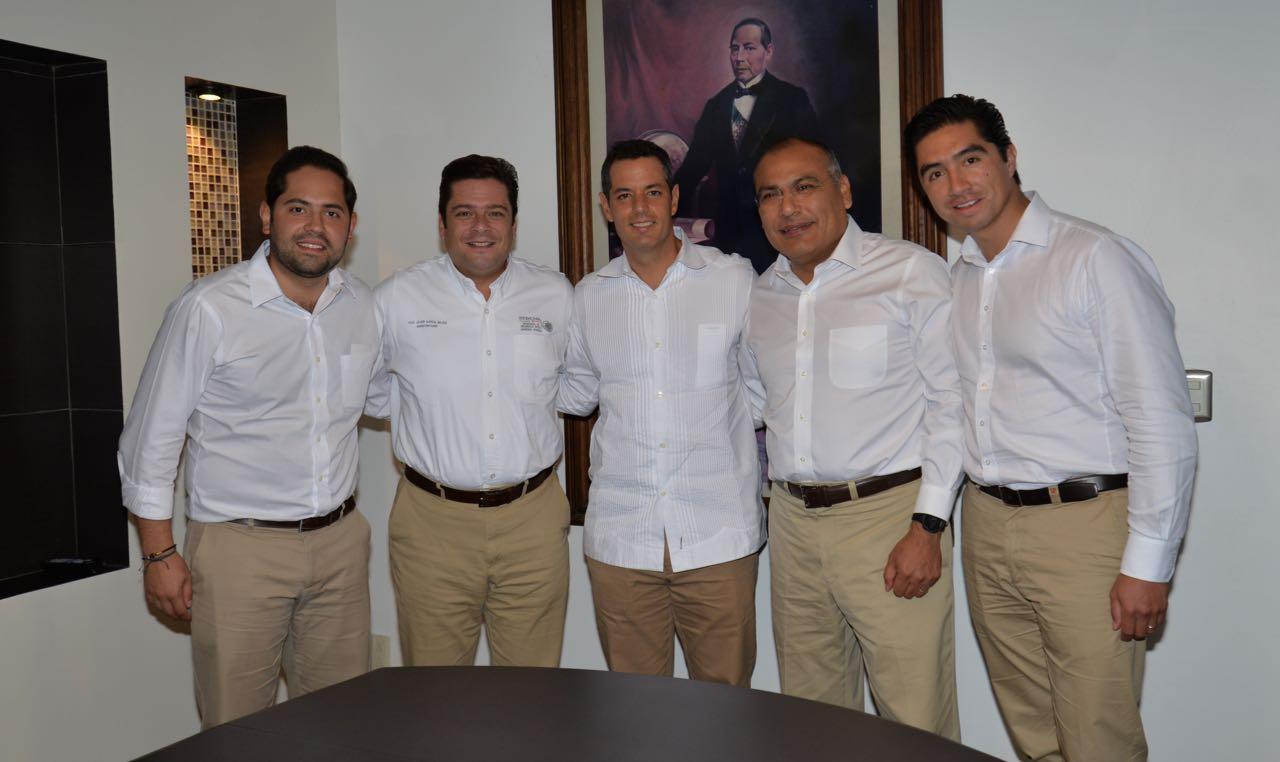 Reunión de Trabajo del Gobernador Murat con el Subsecretario de SEDESOL