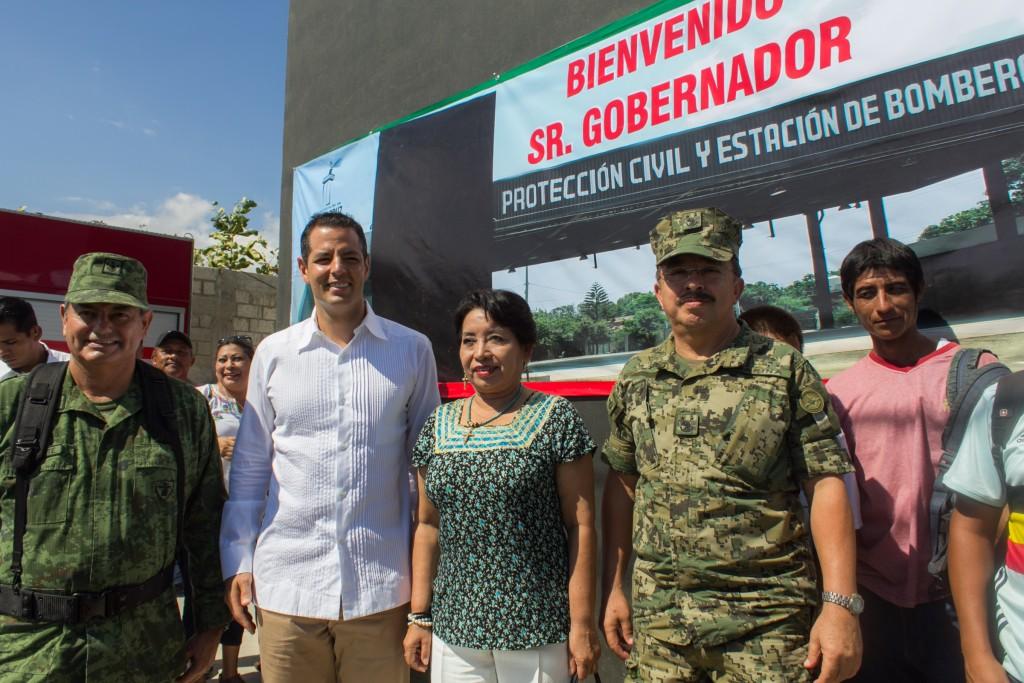 Compromete Gobernador Alejandro Murat fortalecer la seguridad pública en Oaxaca