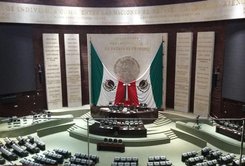 Cámara de Diputados Federal suspende sesión por bloqueo de maestros