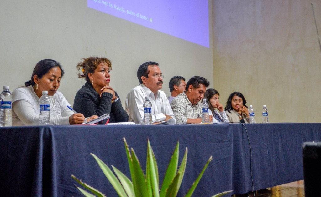 Busca Fausto Díaz Montes potenciar el mercado de Tlacolula