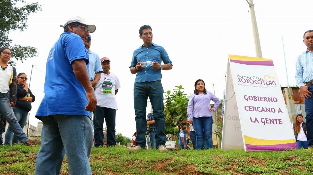 Alejandro López Jarquín comprometidocon el desarrollo urbano de Xoxocotlán