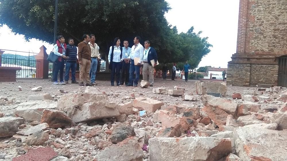 Emite Segob Declaratoria de Desastre para 74 municipios de la Mixteca de Oaxaca