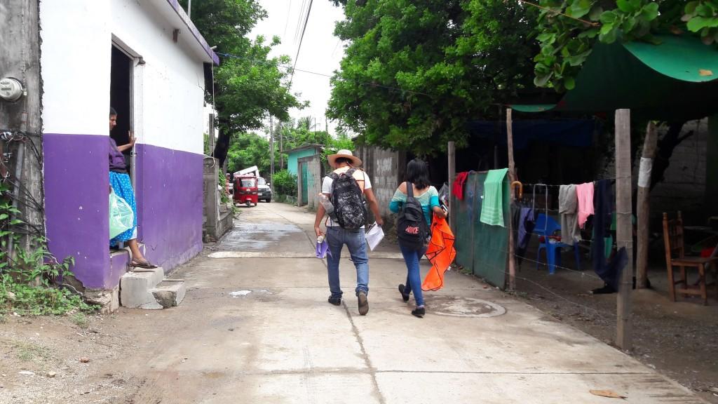 A una semana, empiezan a vender en el parque de Juchitán