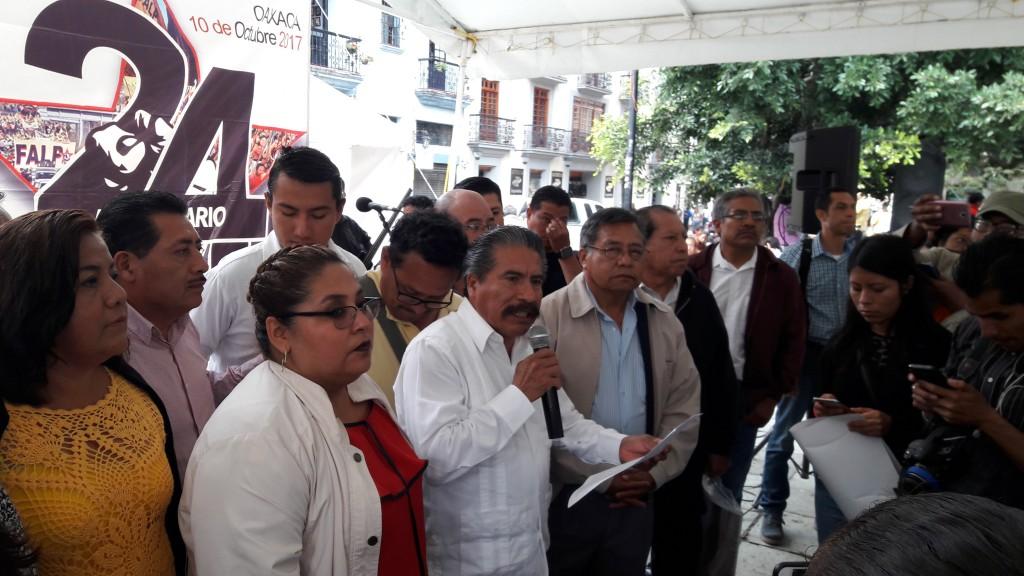 FALP aún no determina si apoyará al PRD para elecciones 2018