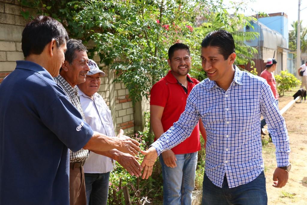 López Jarquín trabaja paramejorar calidad de vida en Xoxocotlán