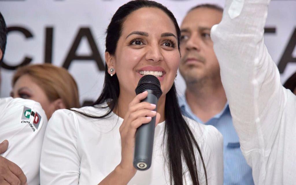 Confirman la renuncia de Mariana Nassar a la Secretaría General del PRI-Oaxaca
