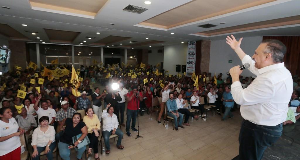 Aterrizar reformas para el bienestar de la gente, ofrece Héctor Pablo