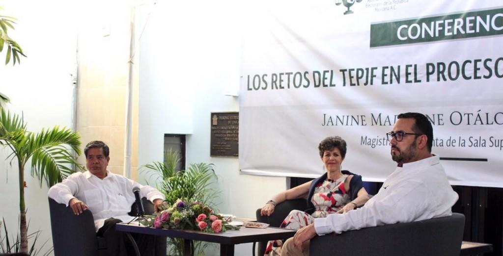 Tribunales Electorales enfrentan 6 retos en elecciones 2018: Otálora Malassis