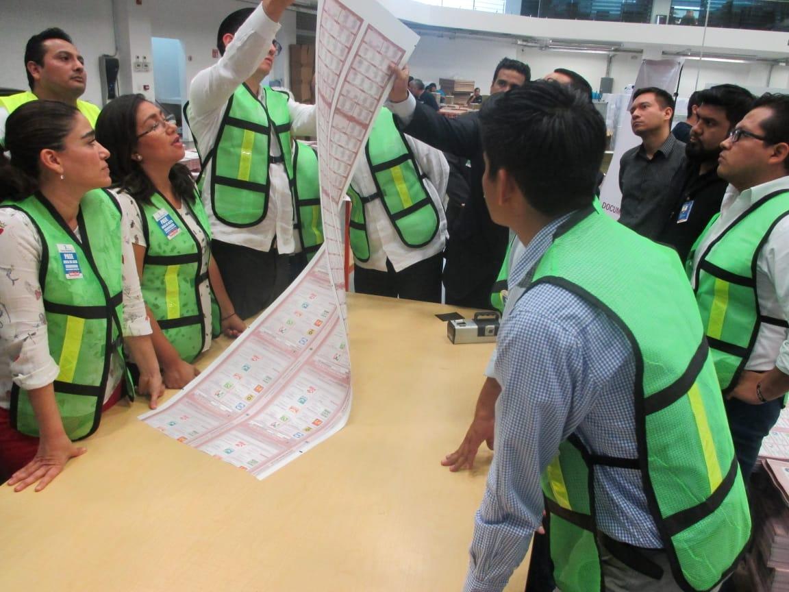 Recibirá IEEPCO boletas y documentación electoral