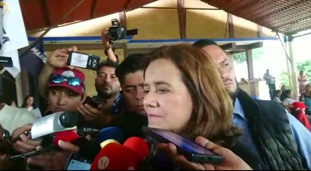 Margarita Zavala presenta su renuncia formal ante el INE
