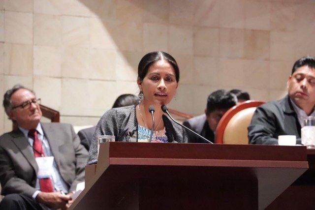 Suspensión de comparecencia de Gallardo Casas obedeció a intereses políticos; llegaremos hasta las últimas consecuencias: Paola Gutiérrez