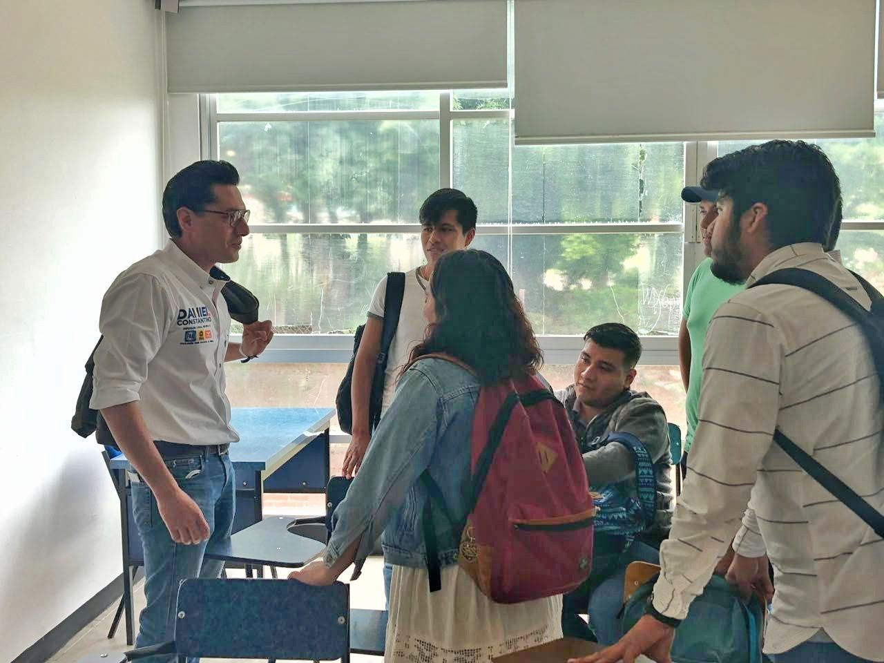 Los jóvenes, el futuro de Oaxaca: Daniel Constantino