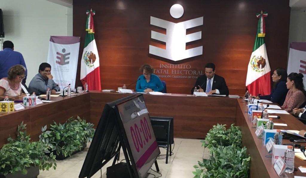 IEEPCO inicia proceso de liquidación al PSD y PMR por probable pérdida de registro