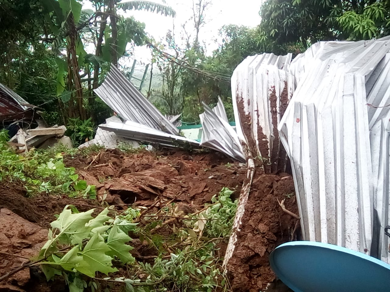 Daños por deslizamiento de ladera en Choapam, ya es atendido: CEPCO