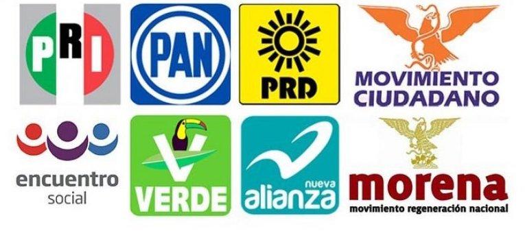 Morena, PRI, PAN, PVEM, PT, Panal y MC multados por afiliaciones indebidas