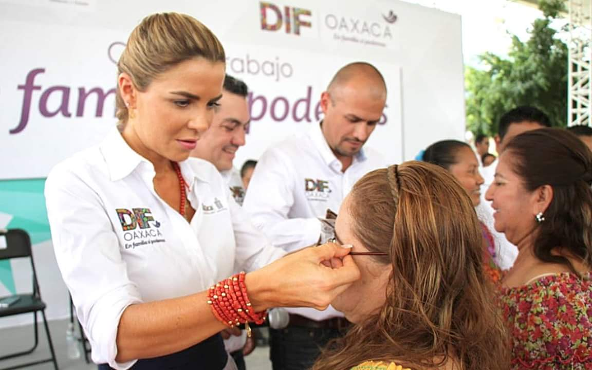 Hoy, la presidente honoraria del DIF-Oaxaca rinde su Segundo Informe