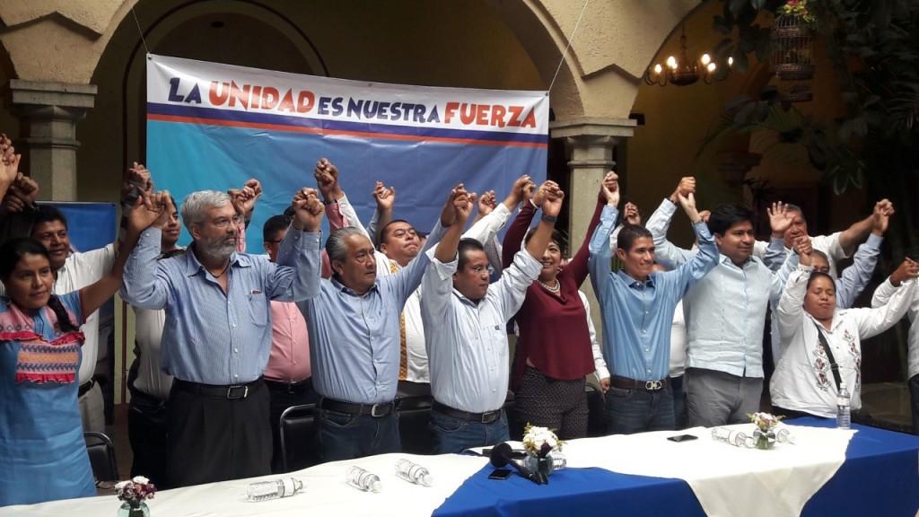 Líderes panistas se suman a José Manuel Vásquez Córdova para dirigir el PAN-Oaxaca