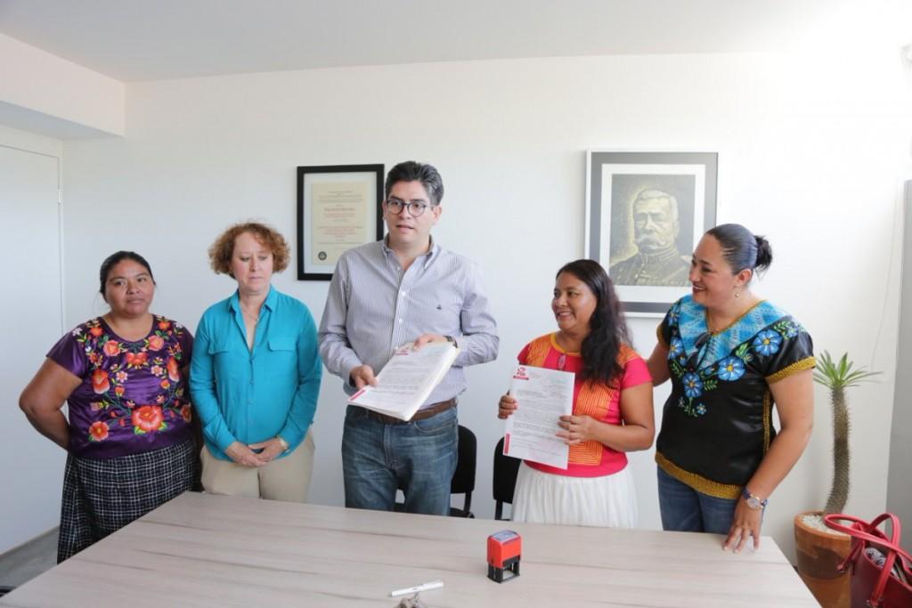 PSD solicitó registro de candidata a presidenta municipal para San Dionisio del Mar
