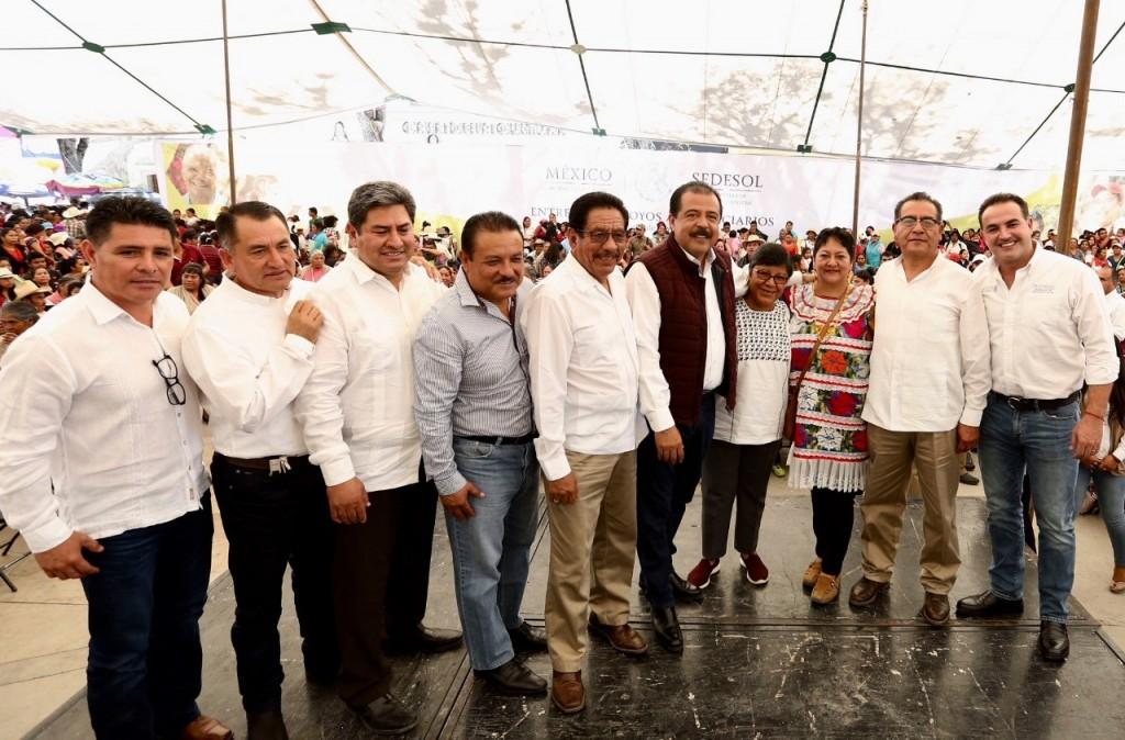 Invirtió la Sedesol 8 mil 800 mdp en la región Mixteca de Oaxaca en la presente administración