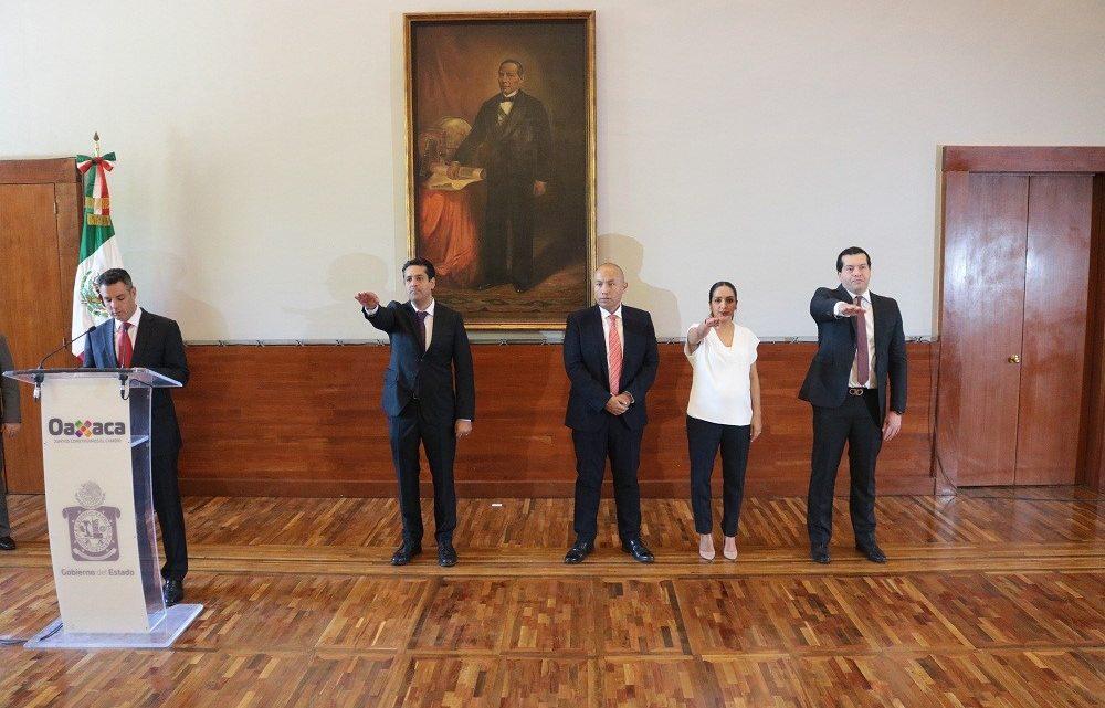 Estos son los nuevos nombramientos de funcionarios del gabinete del gobernador Alejandro Murat