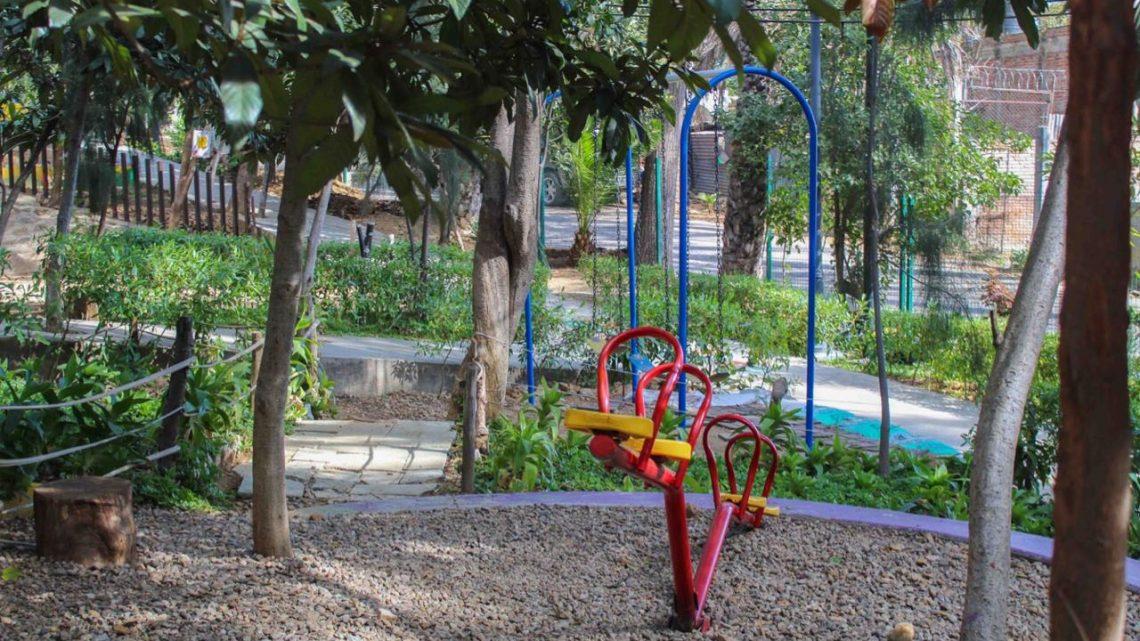 """Mejoran imagen y servicios del parque """"Del Agua Centenario"""""""