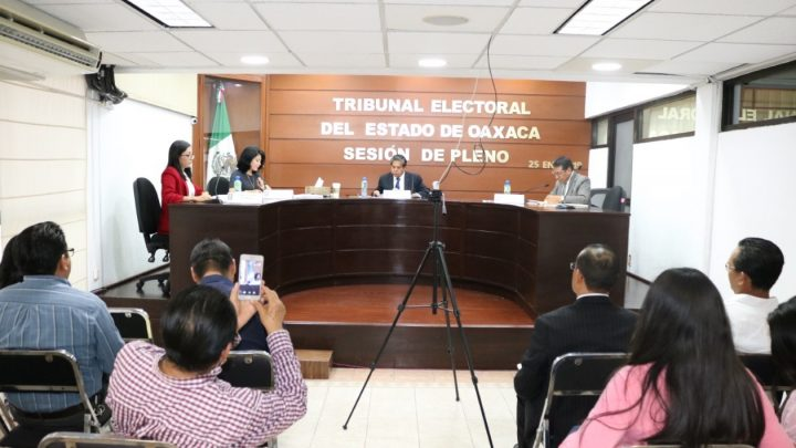 Ordena TEEO a Dirección Ejecutiva de Sistemas Normativos Internos del IEEPCO emita nuevo dictamen respecto al método de elección en San Mateo del Mar
