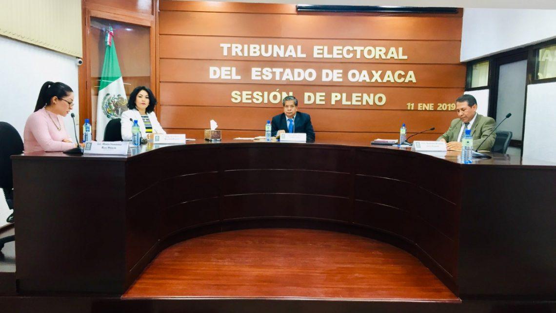 TEEO desecha demandas del IEEPCO y partidos de ampliación presupuesta.