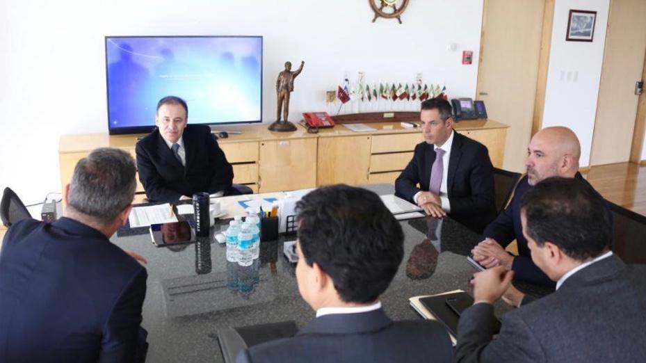 Alejandro Murat y Alfonso Durazo se reúnen para coordinarse en la seguridad de los oaxaqueños