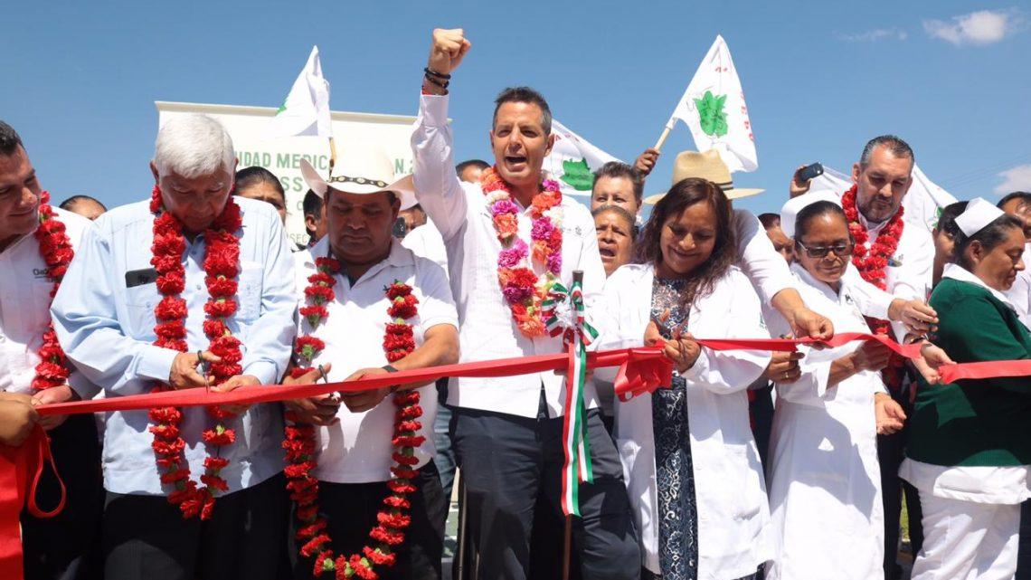 Pone en operación AMH Unidad Médica Rural en San Martín de los Cansecos